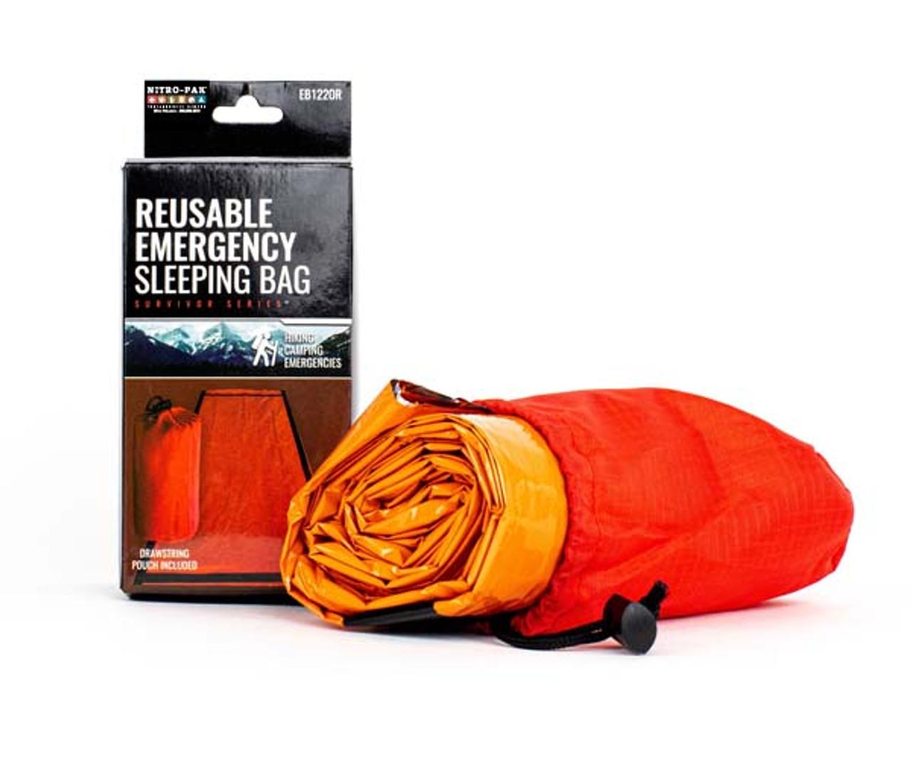 Deluxe Tear Resistant Heat Reflective Sleeping Bivy