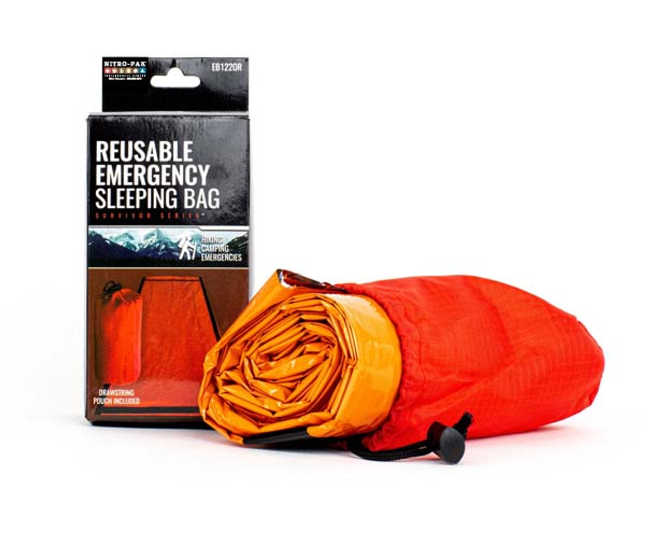 Deluxe Tear Resistant Heat Reflective Sleeping Bivy