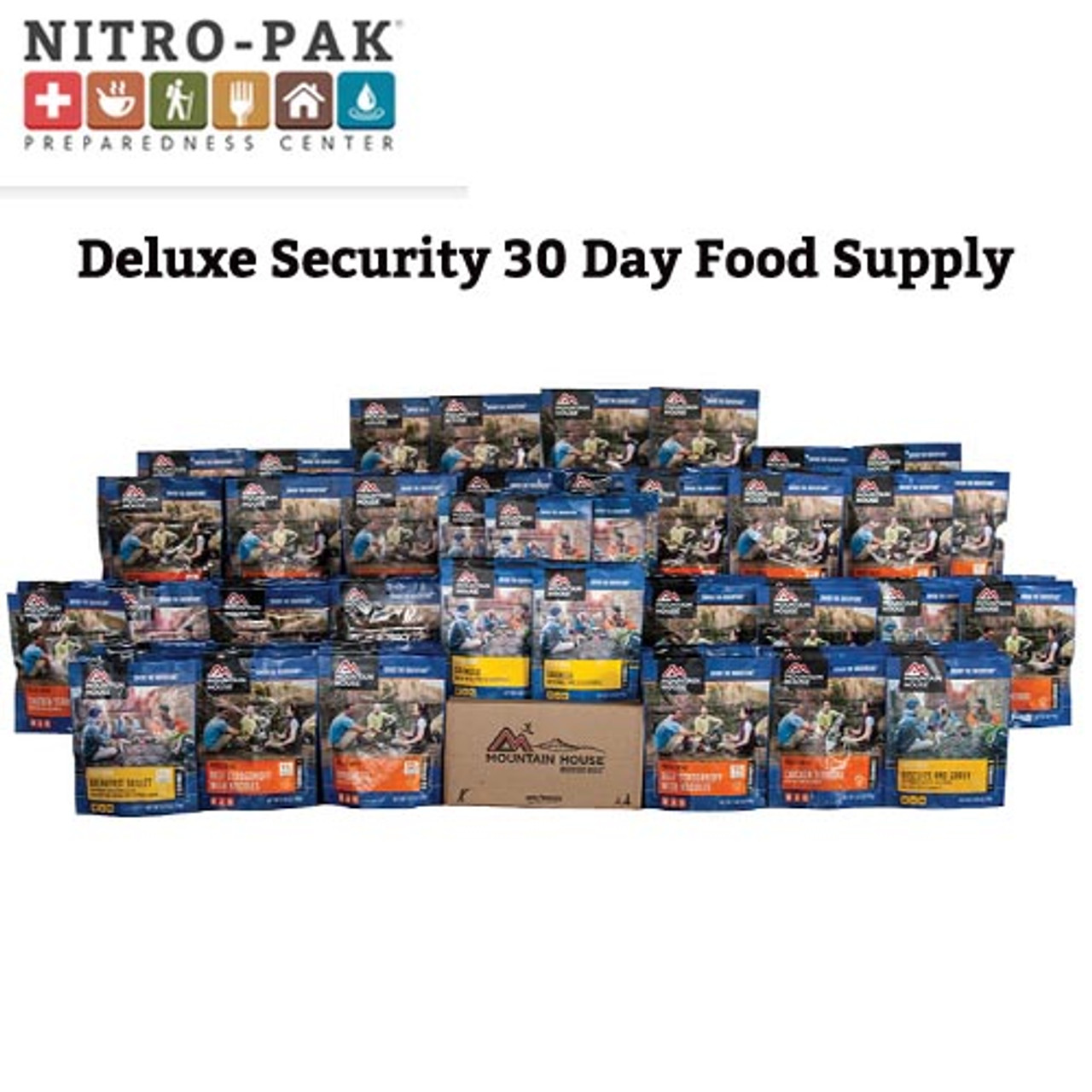 Mountain House Deluxe 30 Day Food Supply