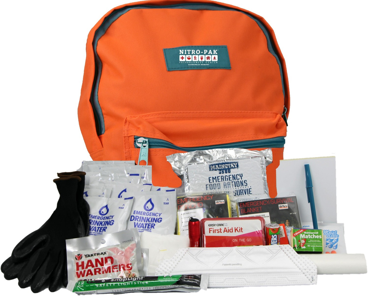 GUARDIAN DELUXE LONG TERM FOOD STORAGE SURVIVAL KIT WITH COOKING STOVE