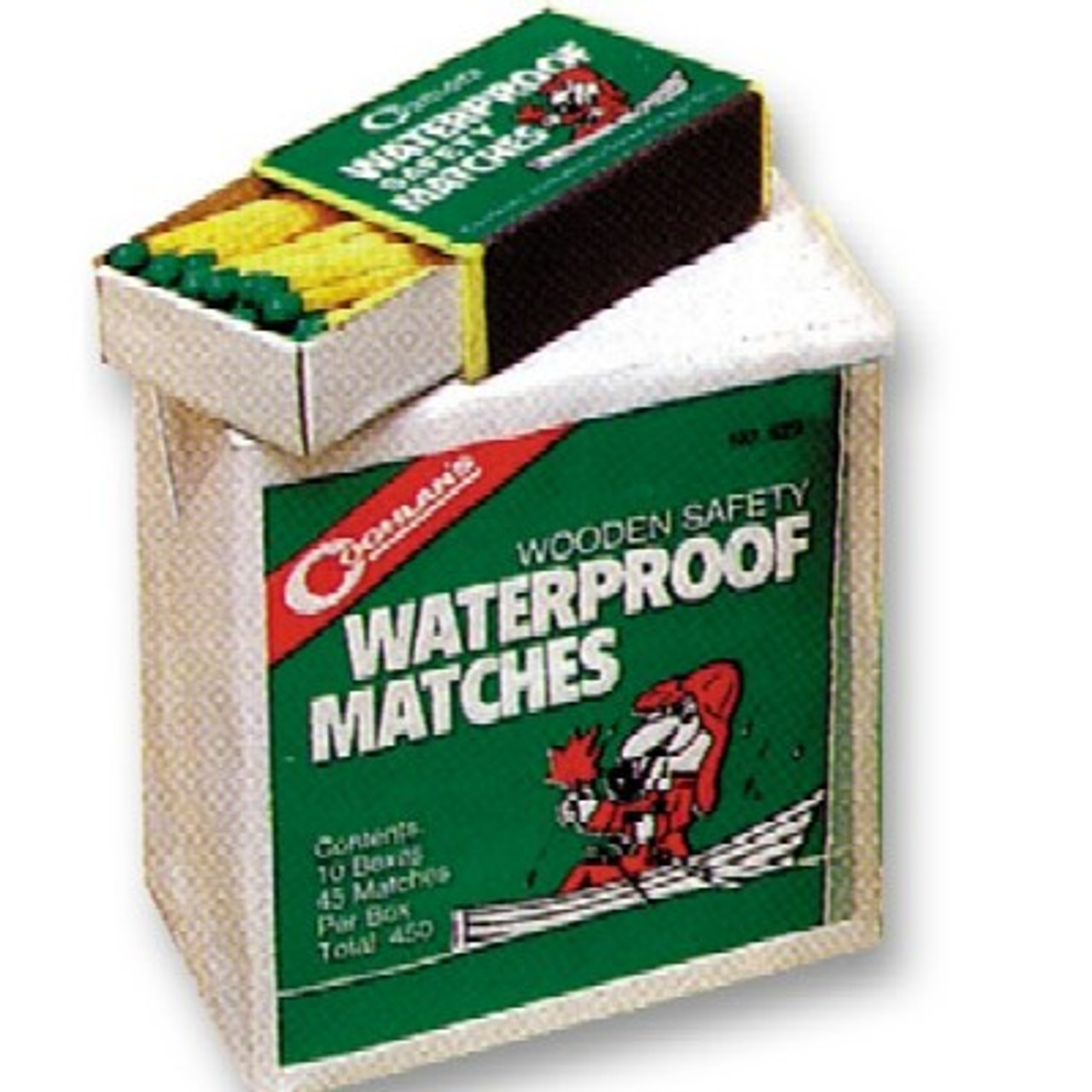 Waterproof Matches (10 boxes of 40 matches)