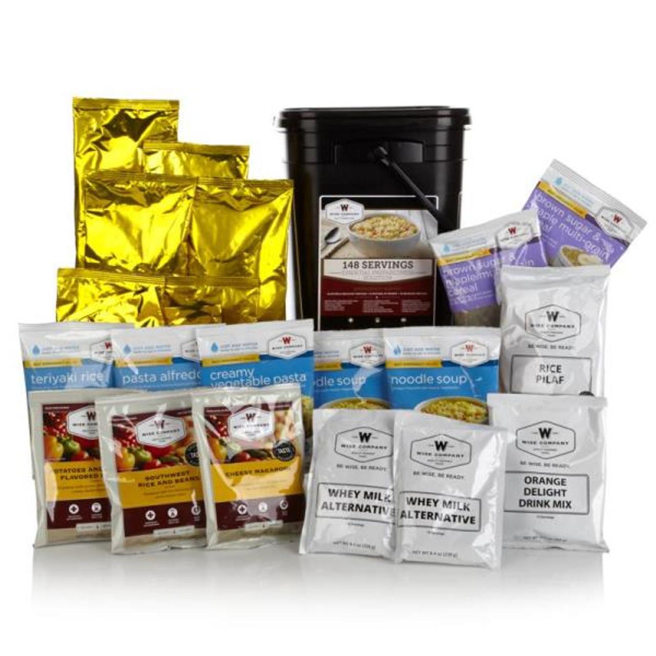 Wise 148 Serving 1 Month Preparedness Kit