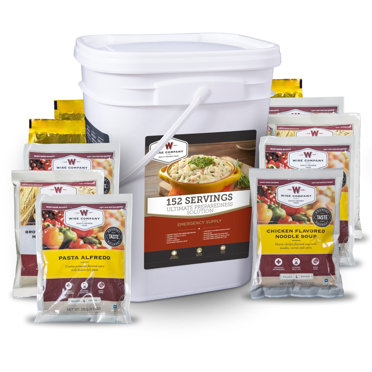 Wise 152 Serving Ultimate Preparedness Solution Bucket