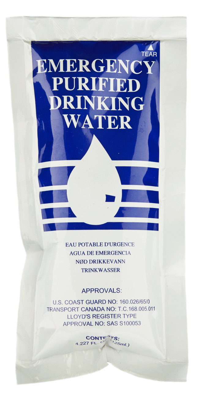 SOS Emergency Water Pouches ( case of 96)