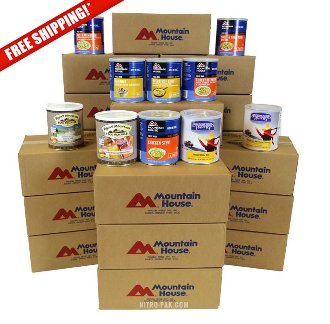 Platinum 12 Month Food Supply
