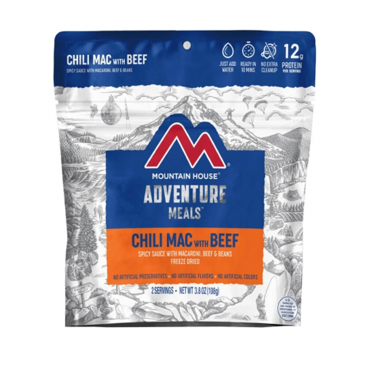 Mountain House Chili Mac w/Beef Pouch