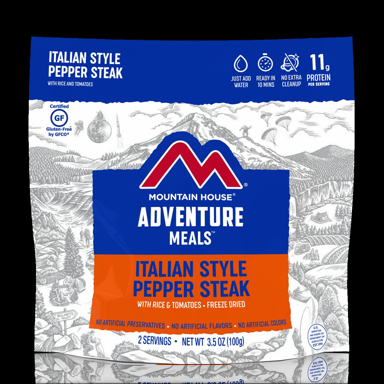 Mountain House Italian Style Pepper Steak Pouch