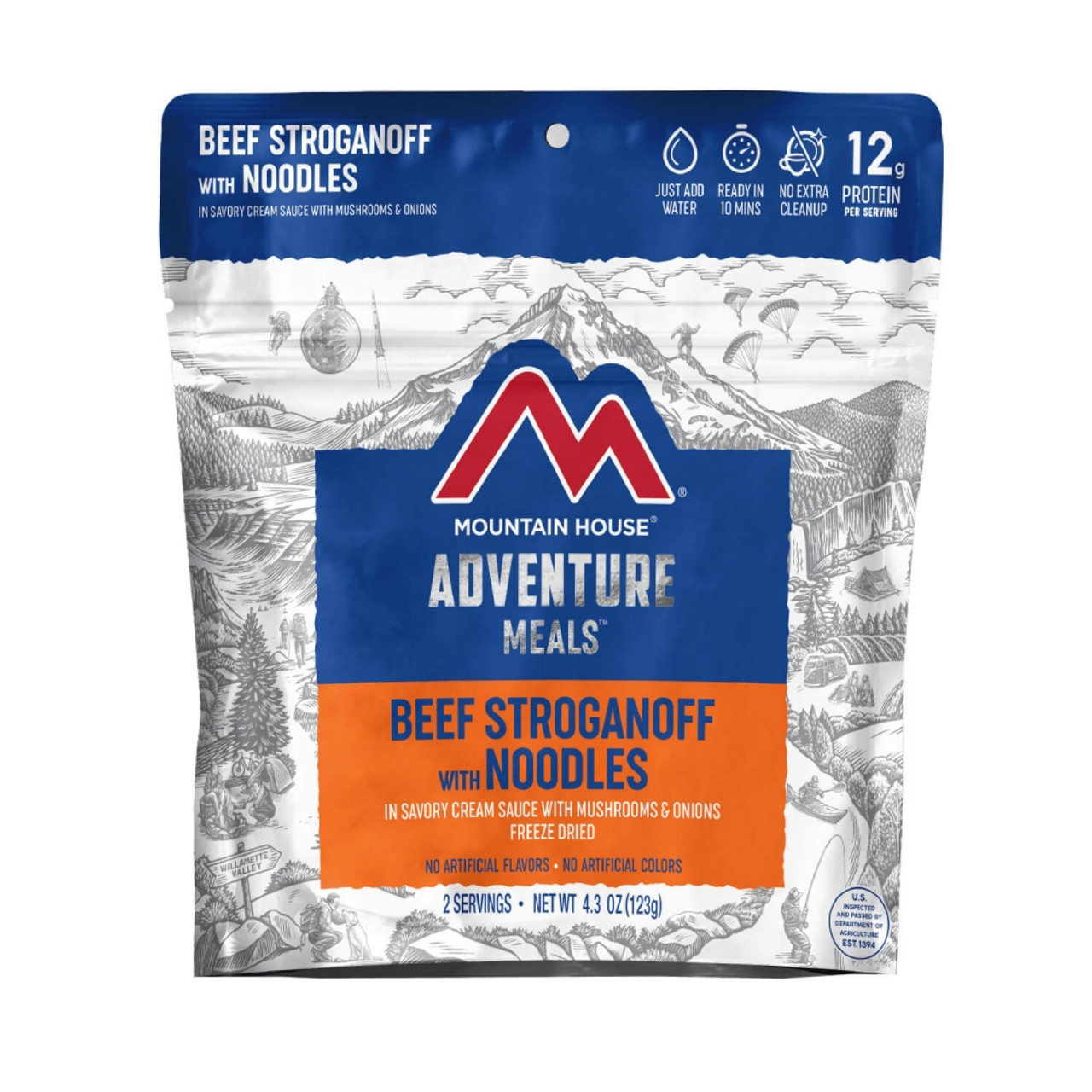 Mountain House Beef Stroganoff Pouch