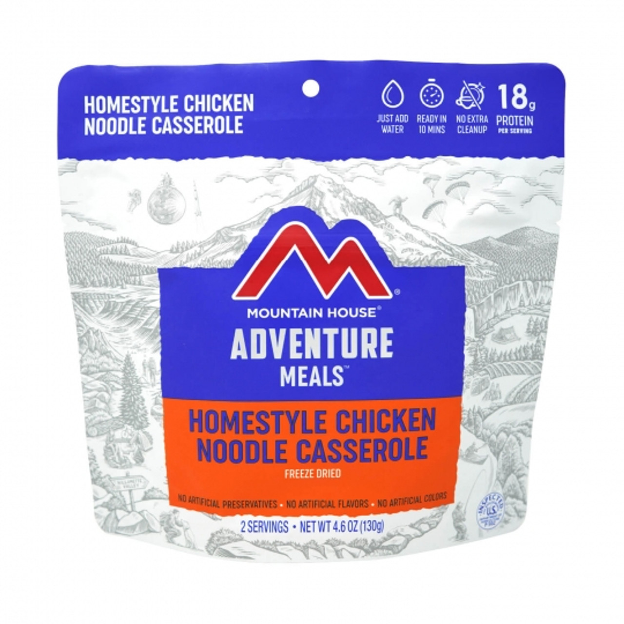 Mountain House Homestyle Chicken Noodle Casserole Pouch