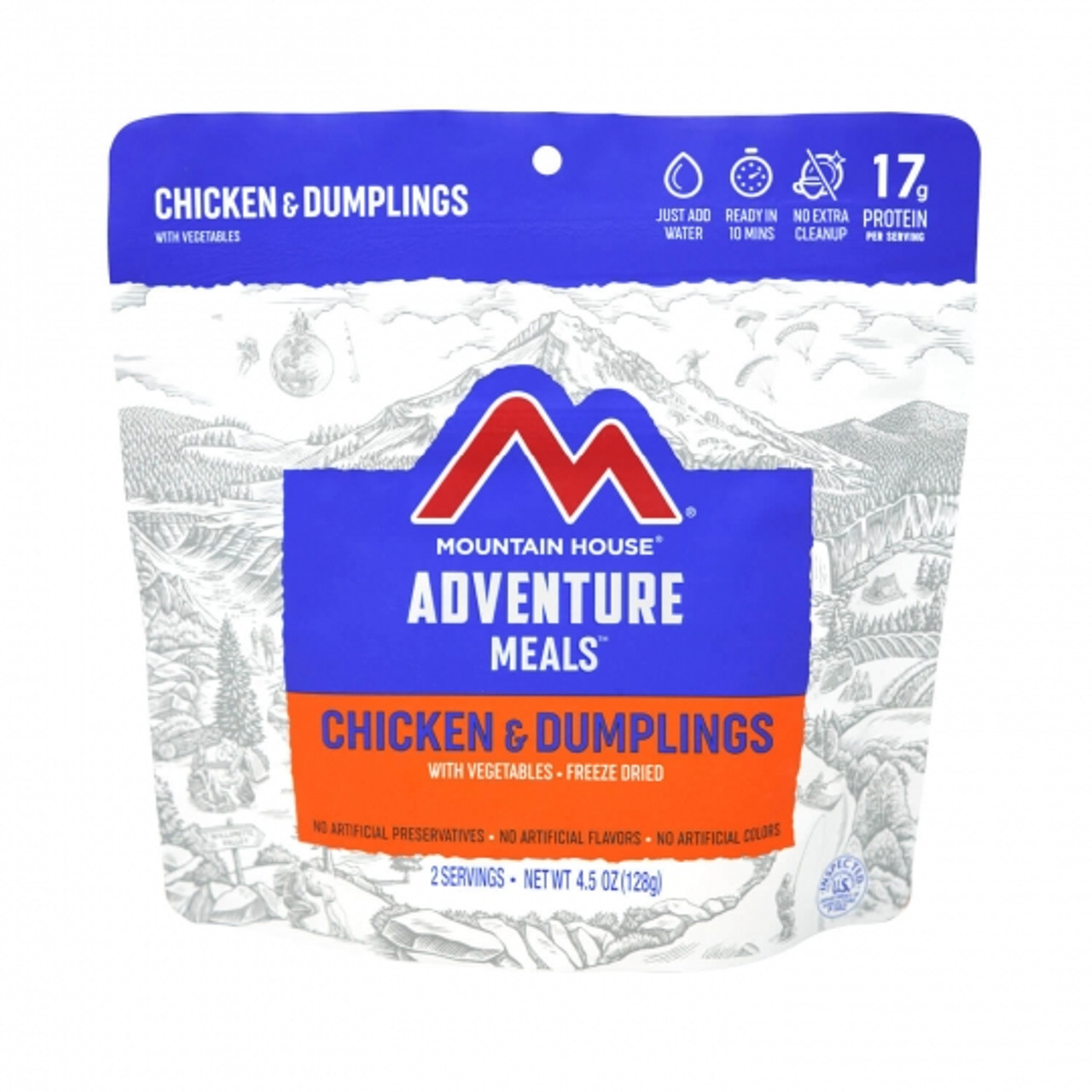 Mountain House Chicken and Dumplings Pouch