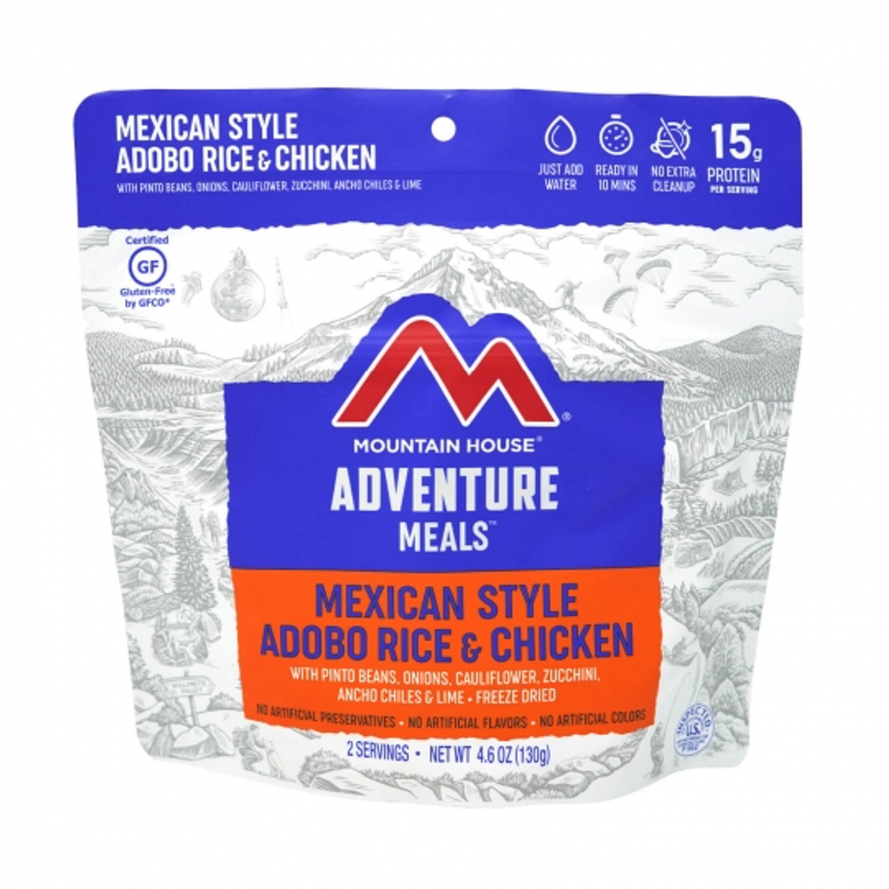 Mountain House Mexican Style Adobo Rice & Chicken Pouch