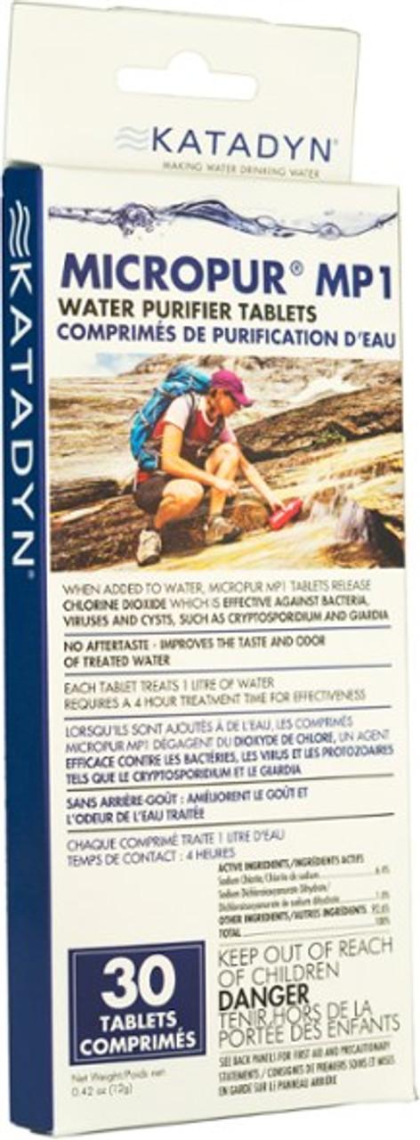 Katadyn Micropur MP1 Tablets (30 Count)