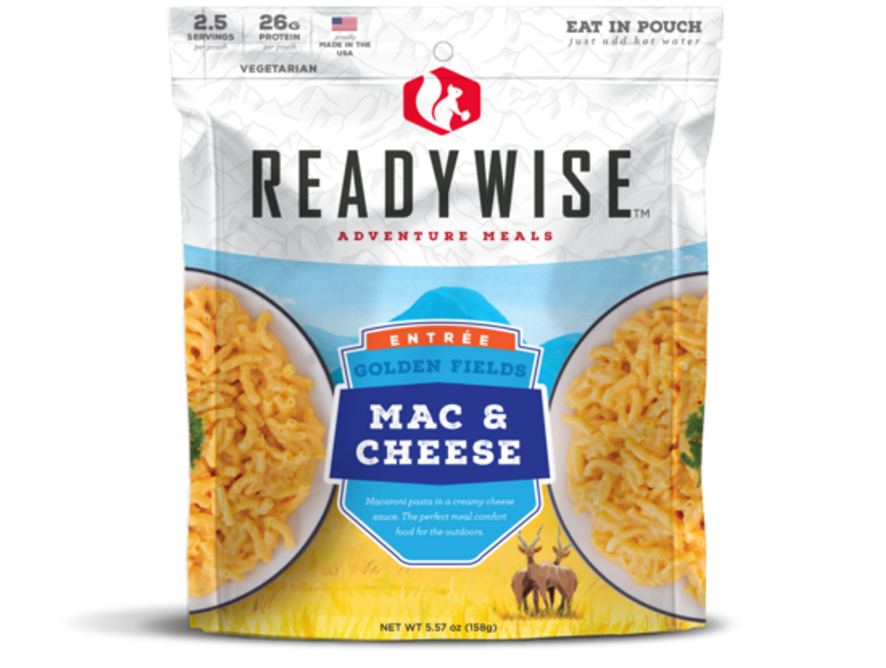 Wise Golden Fields Mac & Cheese - 2 Serving Pouch