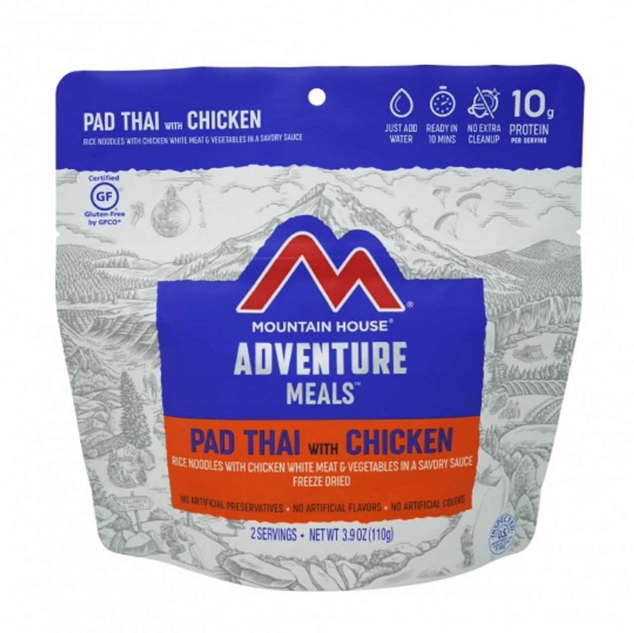 Mountain House Pad Thai w/ Chicken Pouch