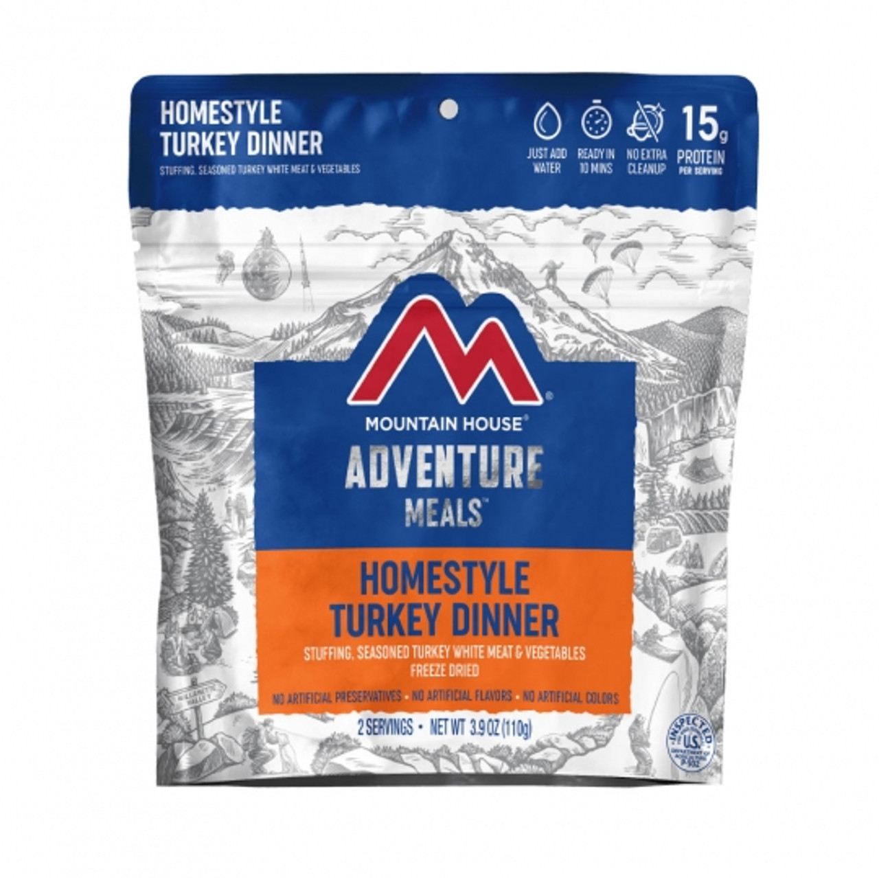 Mountain House Homestyle Turkey Dinner Pouch