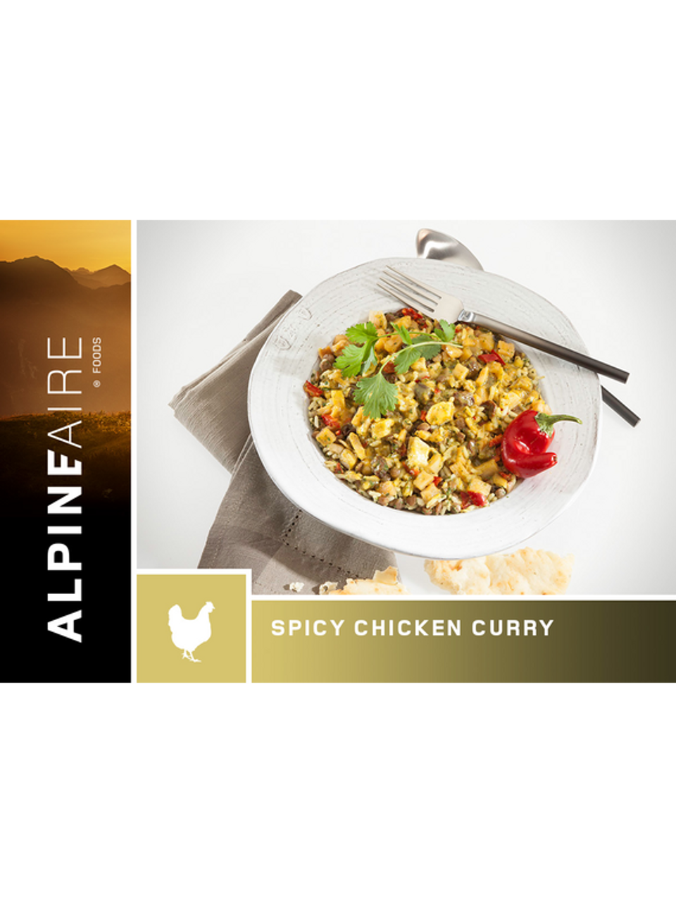 Alpine Aire Spicy Chicken Curry Pouch **CLEARANCE**