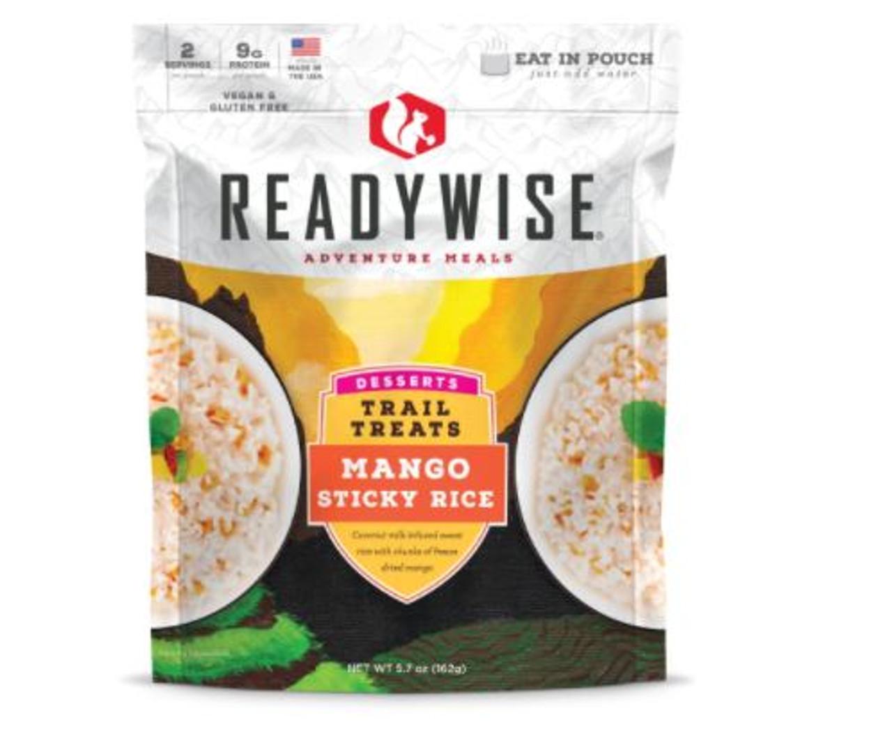 Wise Trail Treats Mango Sticky Rice