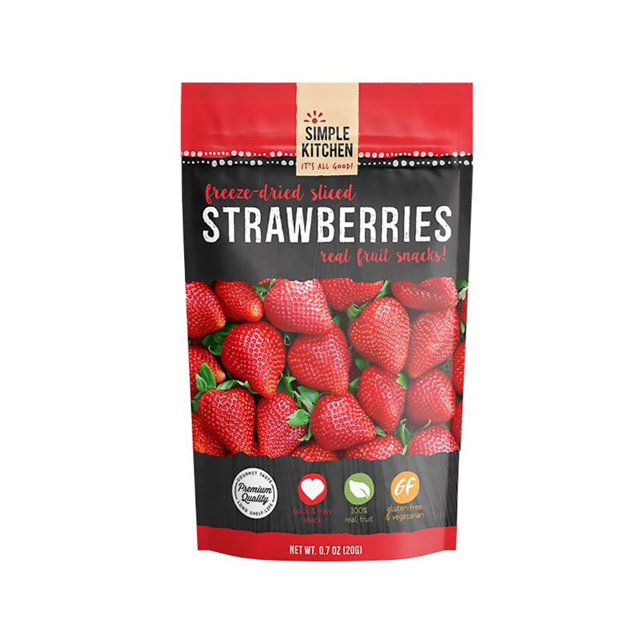 Wise Freeze-Dried Strawberries