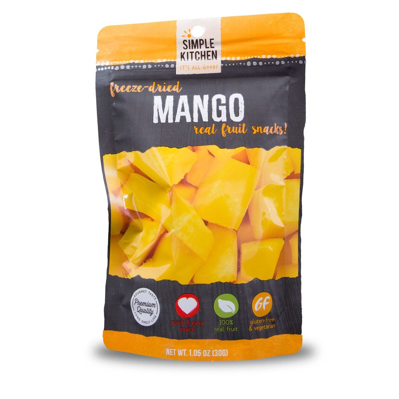 Wise  Organic Freeze-Dried Mangoes
