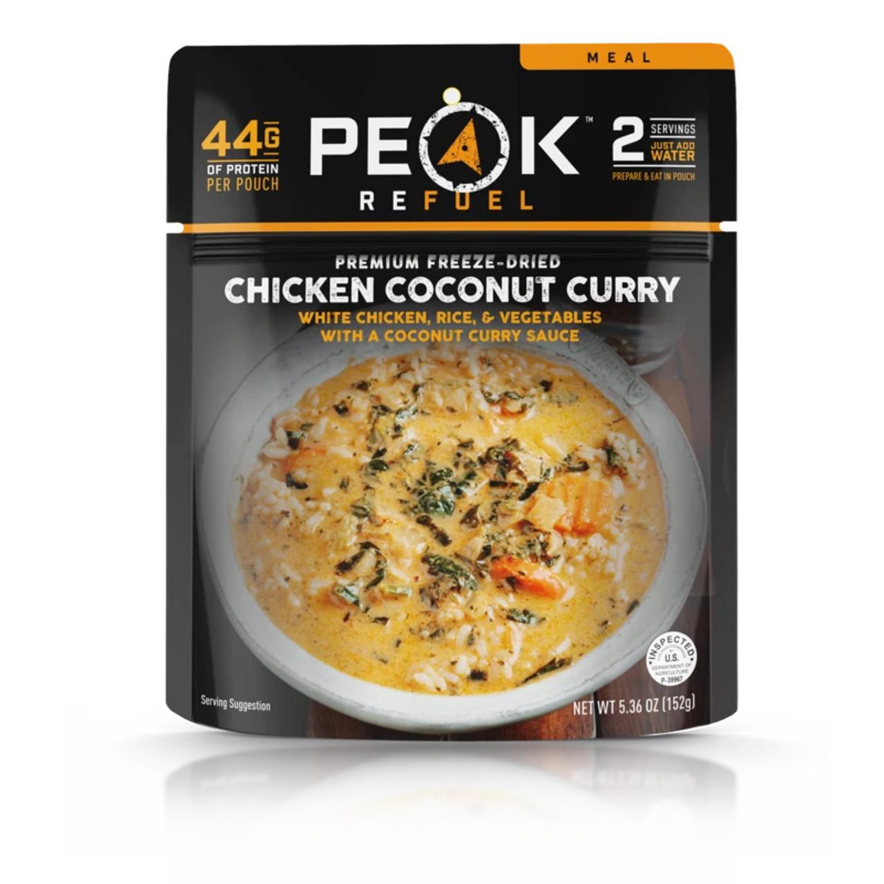 Peak Refuel Chicken Coconut Curry