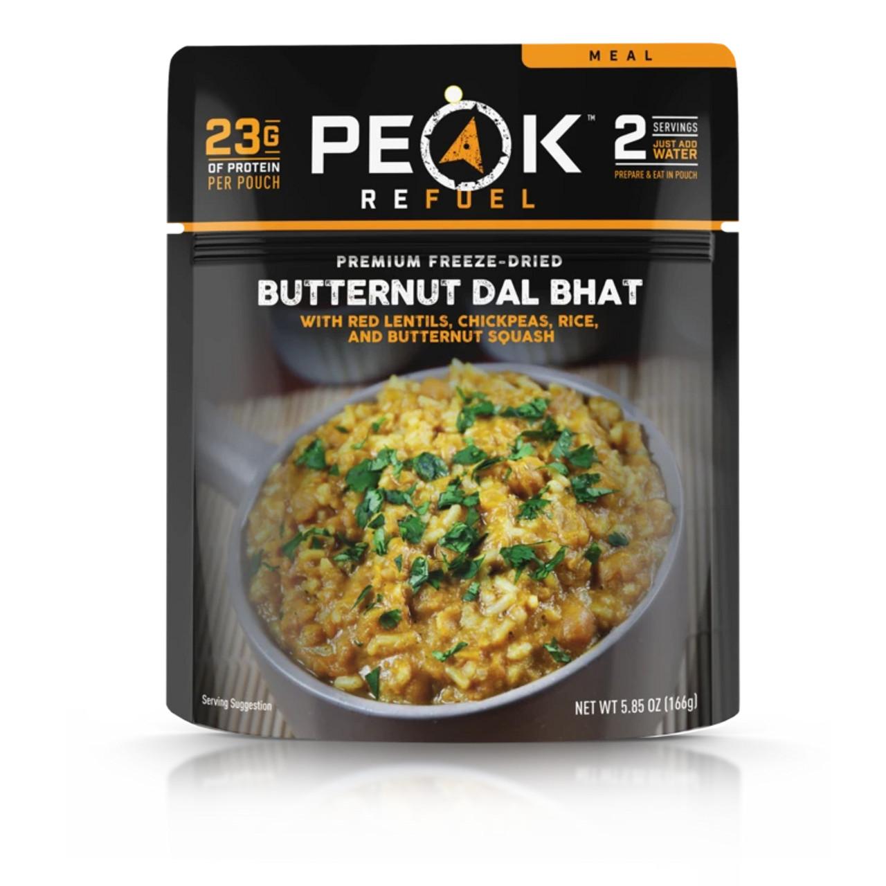 Peak Refuel Butternut Dal Bhat (VEGAN)