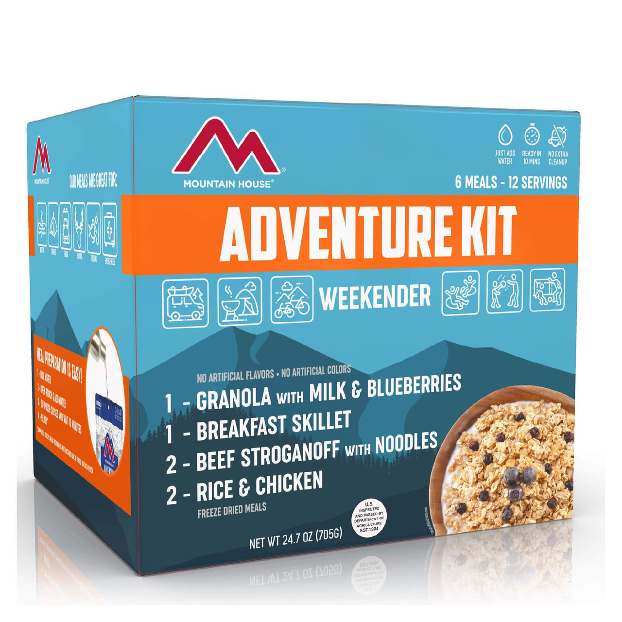 Mountain House Adventure Weekender Kit
