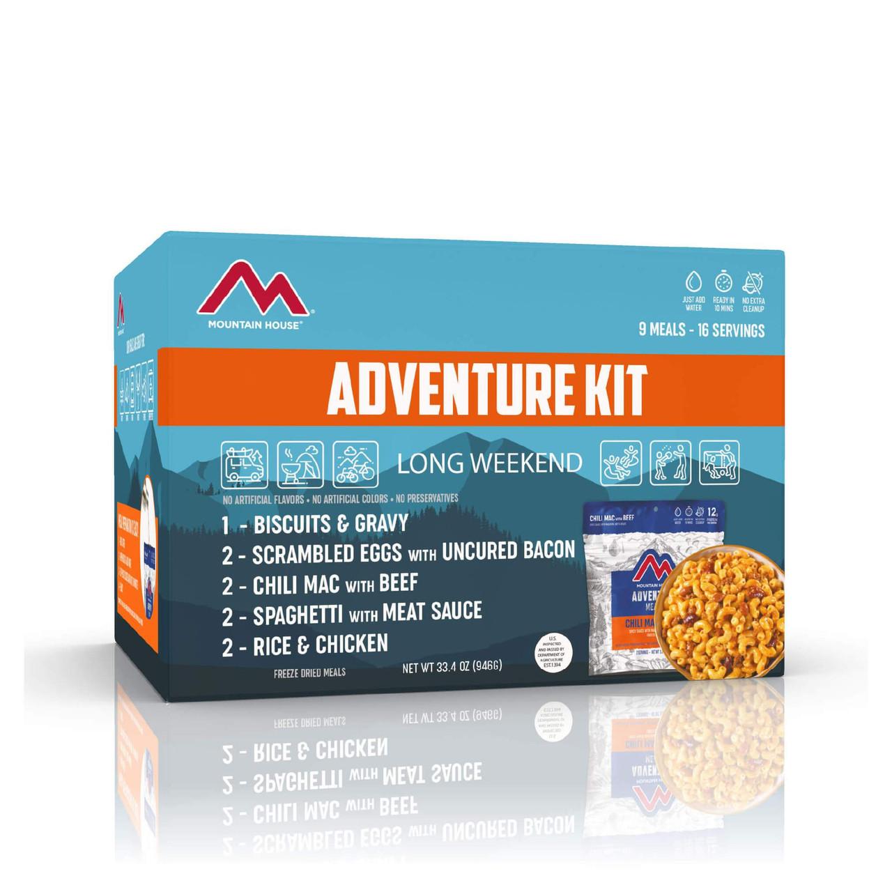 Mountain House Adventure Long Weekender Kit