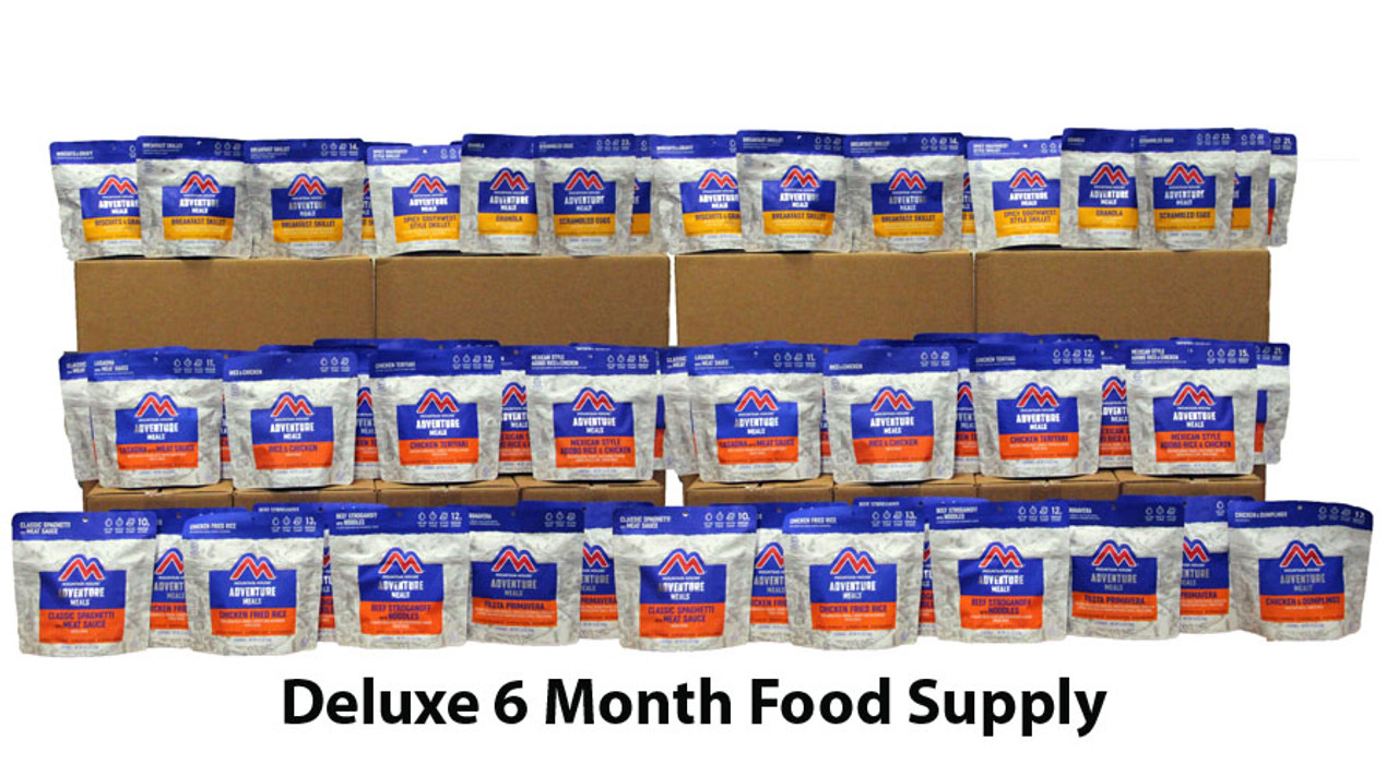 Deluxe Security 6 Month Food Supply