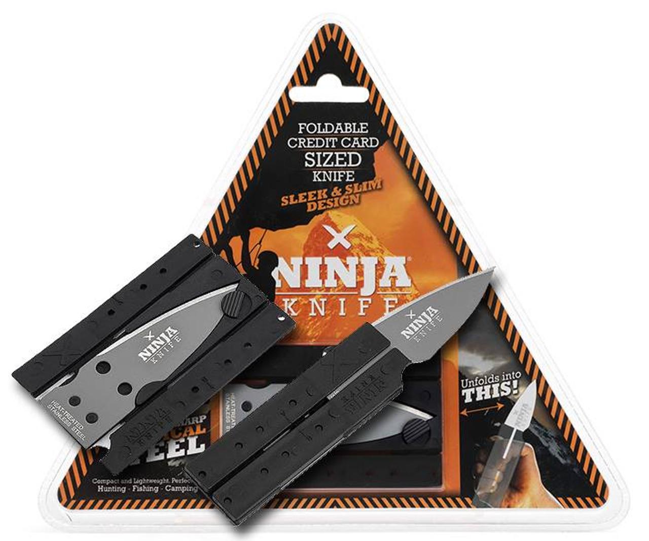 Wallet Ninja Folding Credit Card Ninja Knife