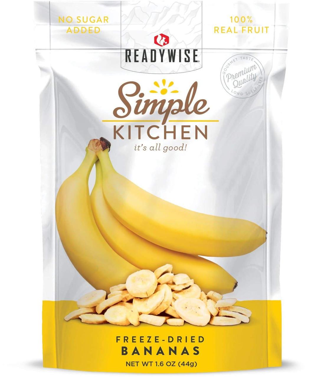 Wise Freeze-Dried Banana