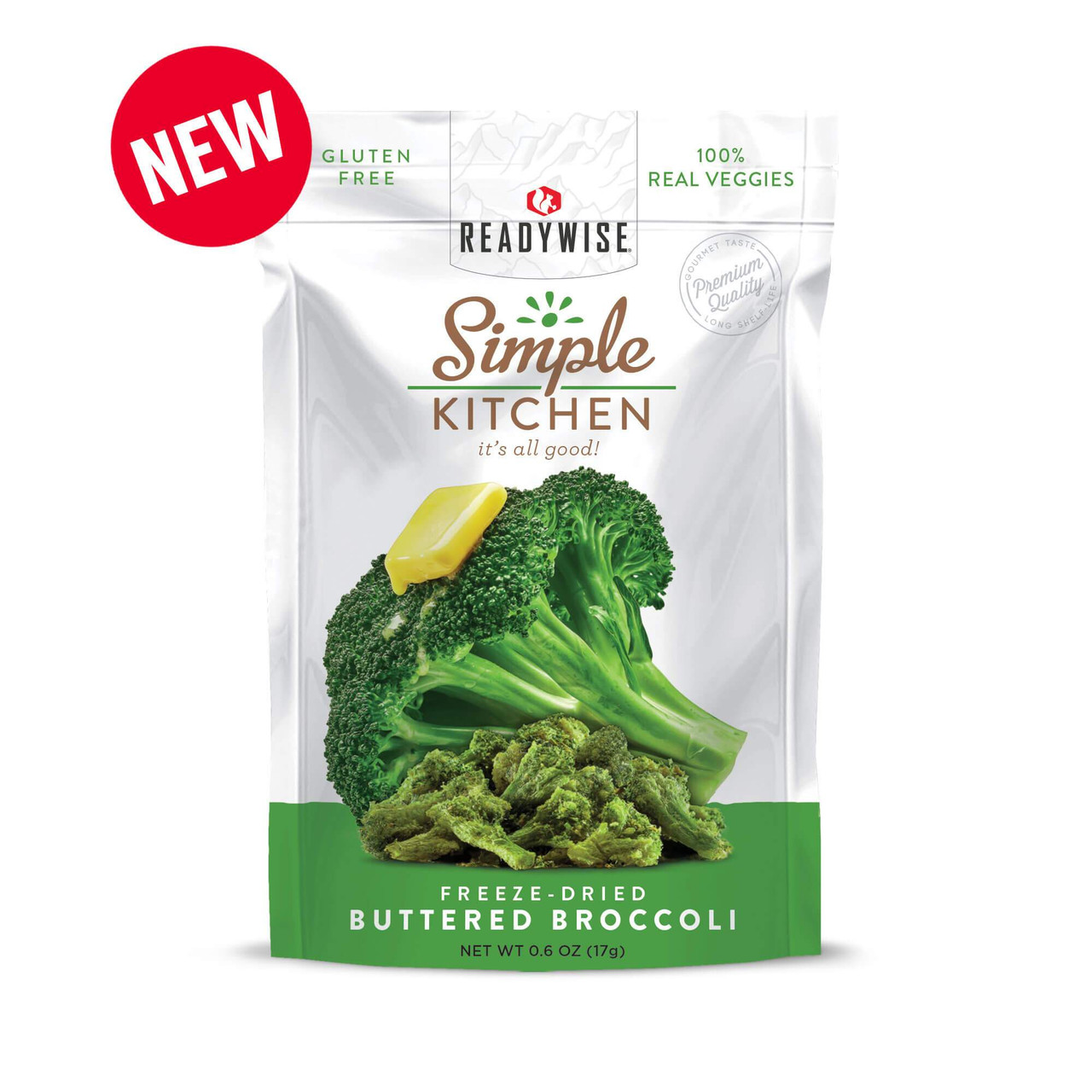 Wise Freeze-Dried Buttered Broccoli