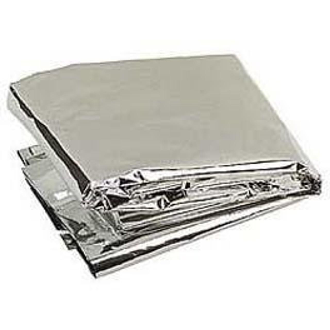 Thermal Emergency Blanket - Silver - 12 Pak
