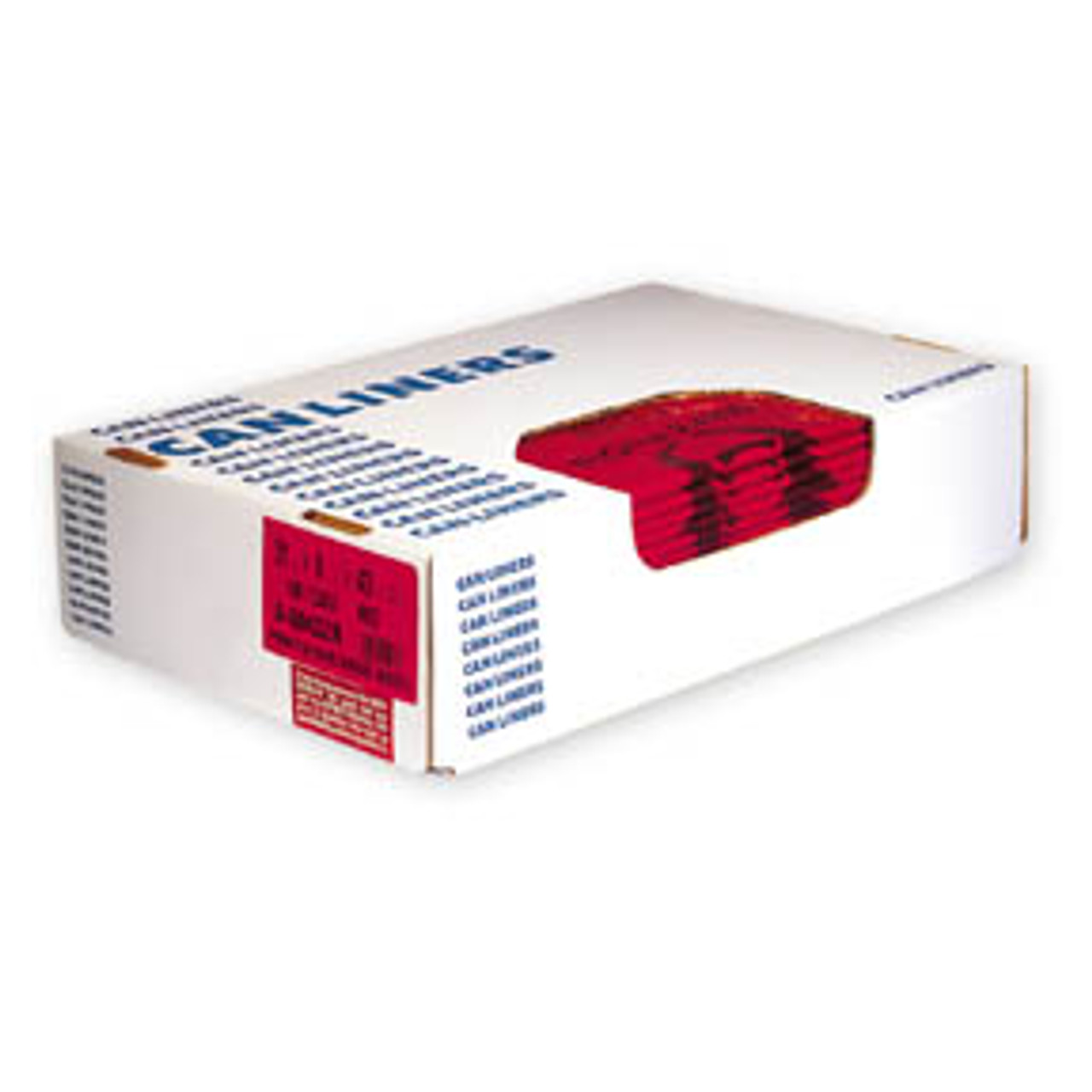 Red Sanitation Toilet Liners -12 Bags