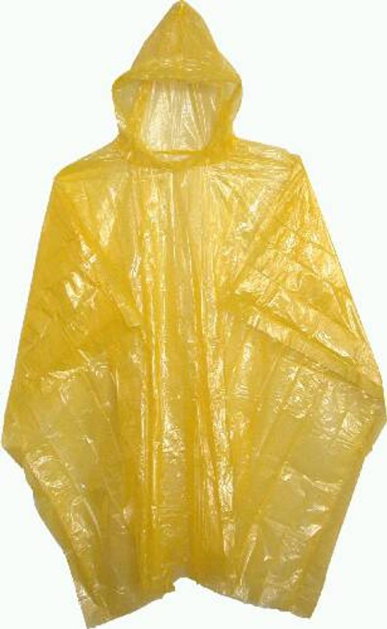 Emergency Plastic Poncho