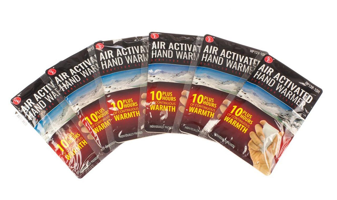 Emergency 10 Hour Hand Warmers - 3 pairs
