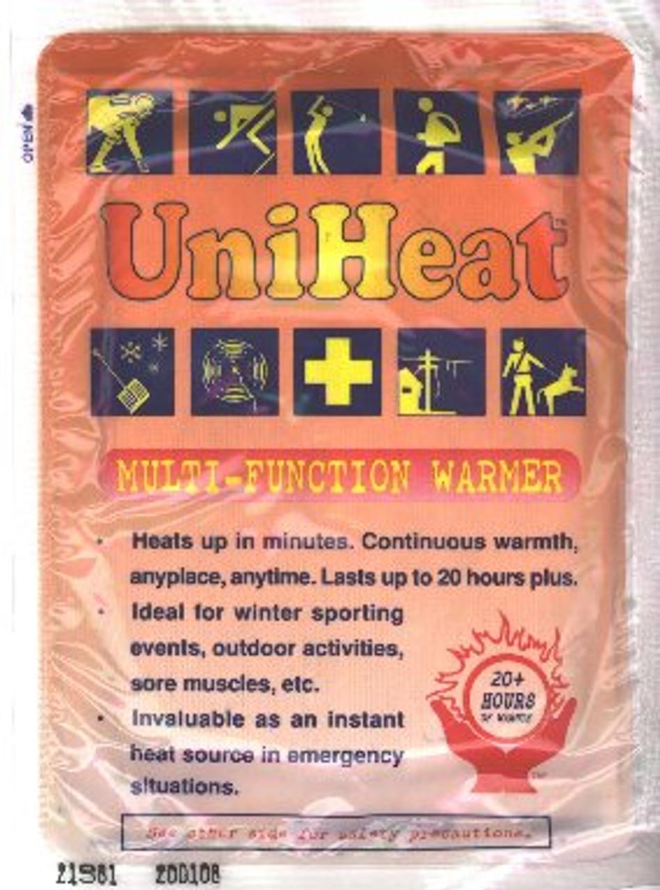 Emergency 24 Hour Body Warmer - 4-Pack