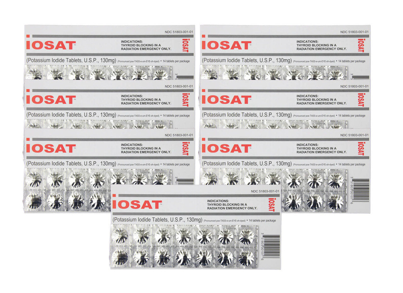 IOSAT Potassium Iodide Tablets
