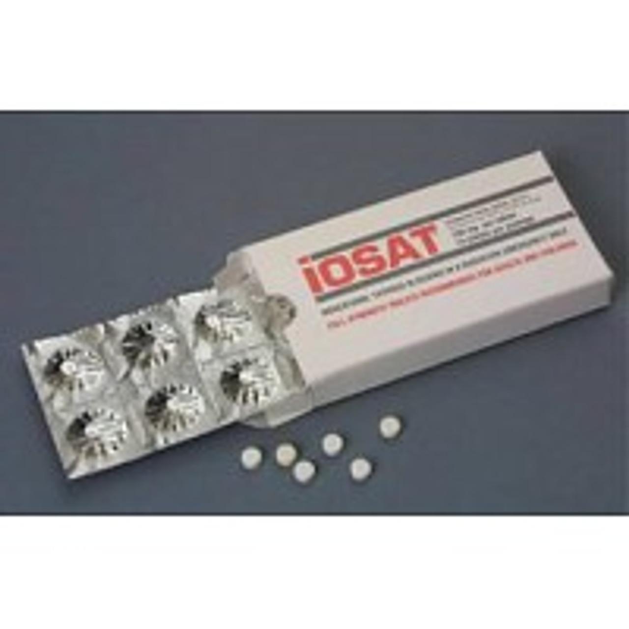 IOSAT Potassium Iodide - 28 Pak of 14 Tablets
