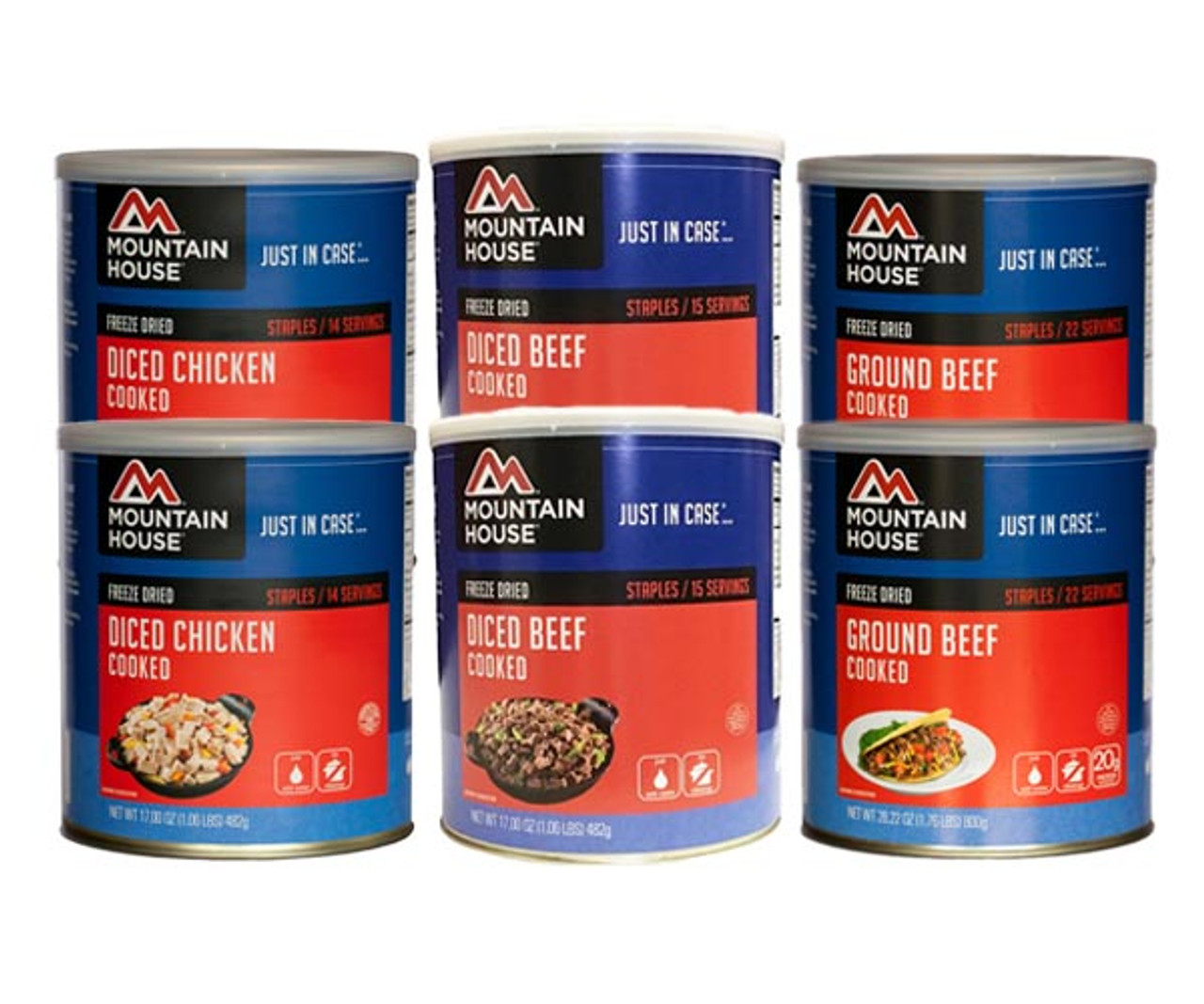 Mountain House Real Meats Variety Pak