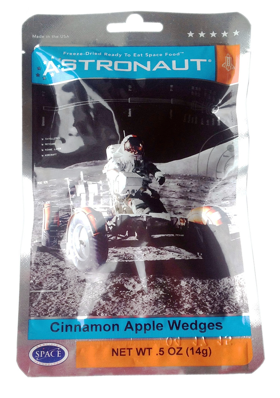 Astronaut Foods Cinnamon Apple Wedges**Expired 9/2019**