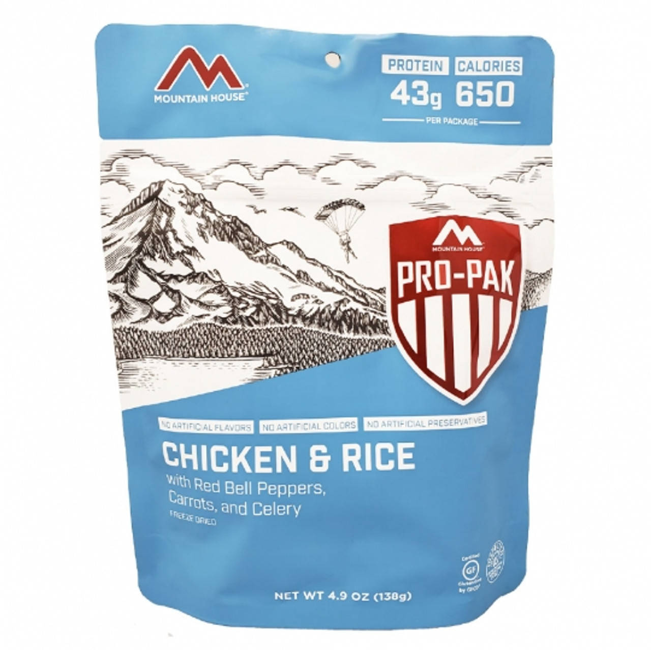 MILITARY Mountain House Chicken & Rice Pro-Pak Pouch