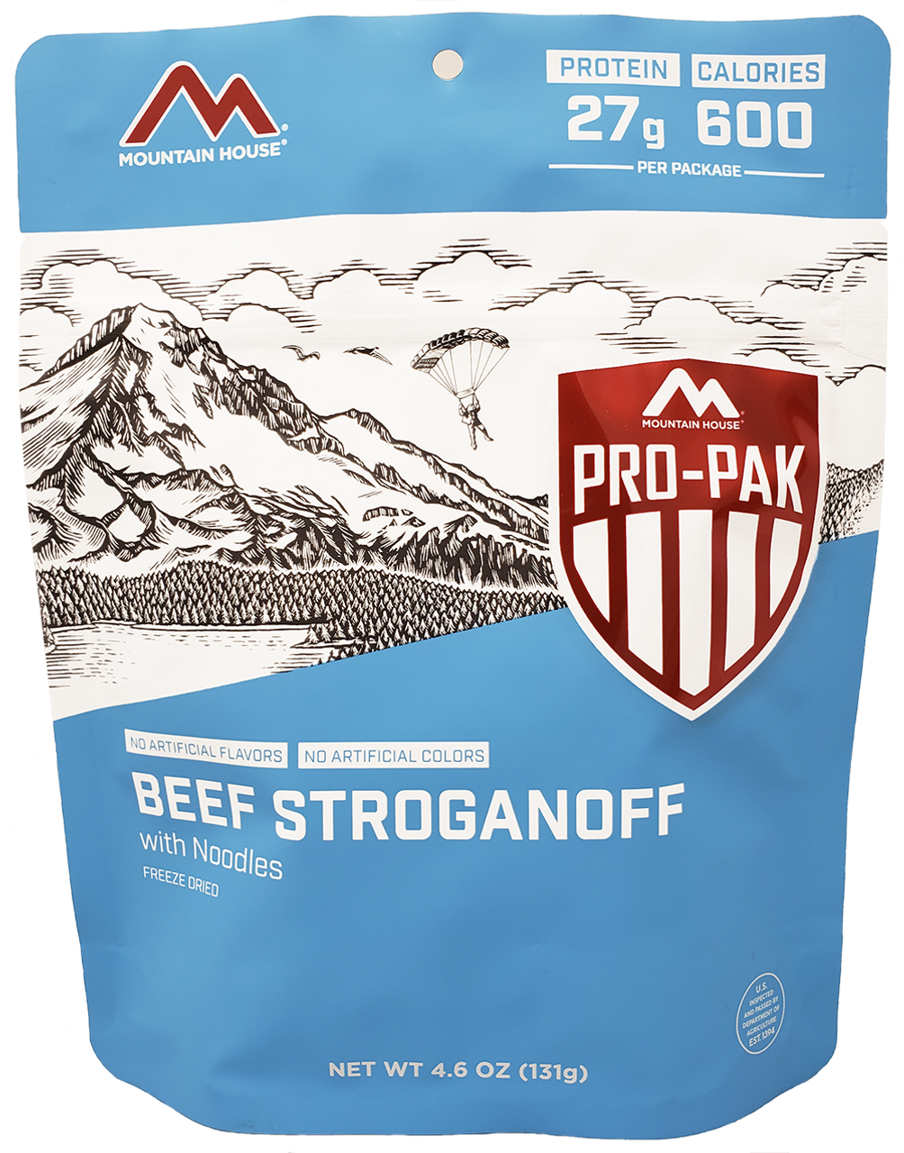MILITARY Mountain House Beef Stroganoff Pro-Pak Pouch