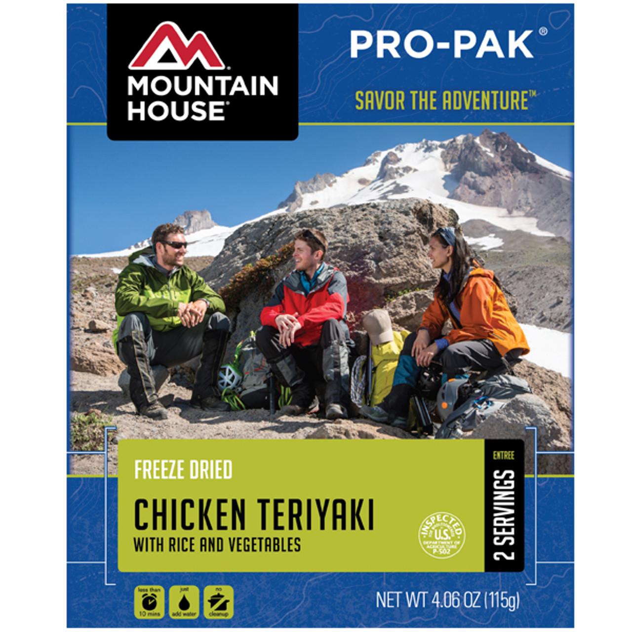 Mountain House Chicken Teriyaki Pro-Pak Pouch