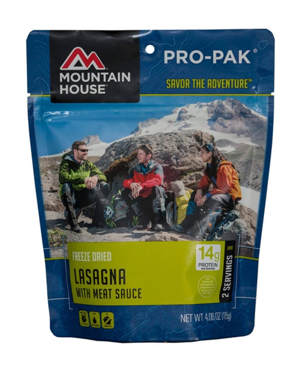Mountain House Lasagna with Meat Sauce Pro-Pak Pouch