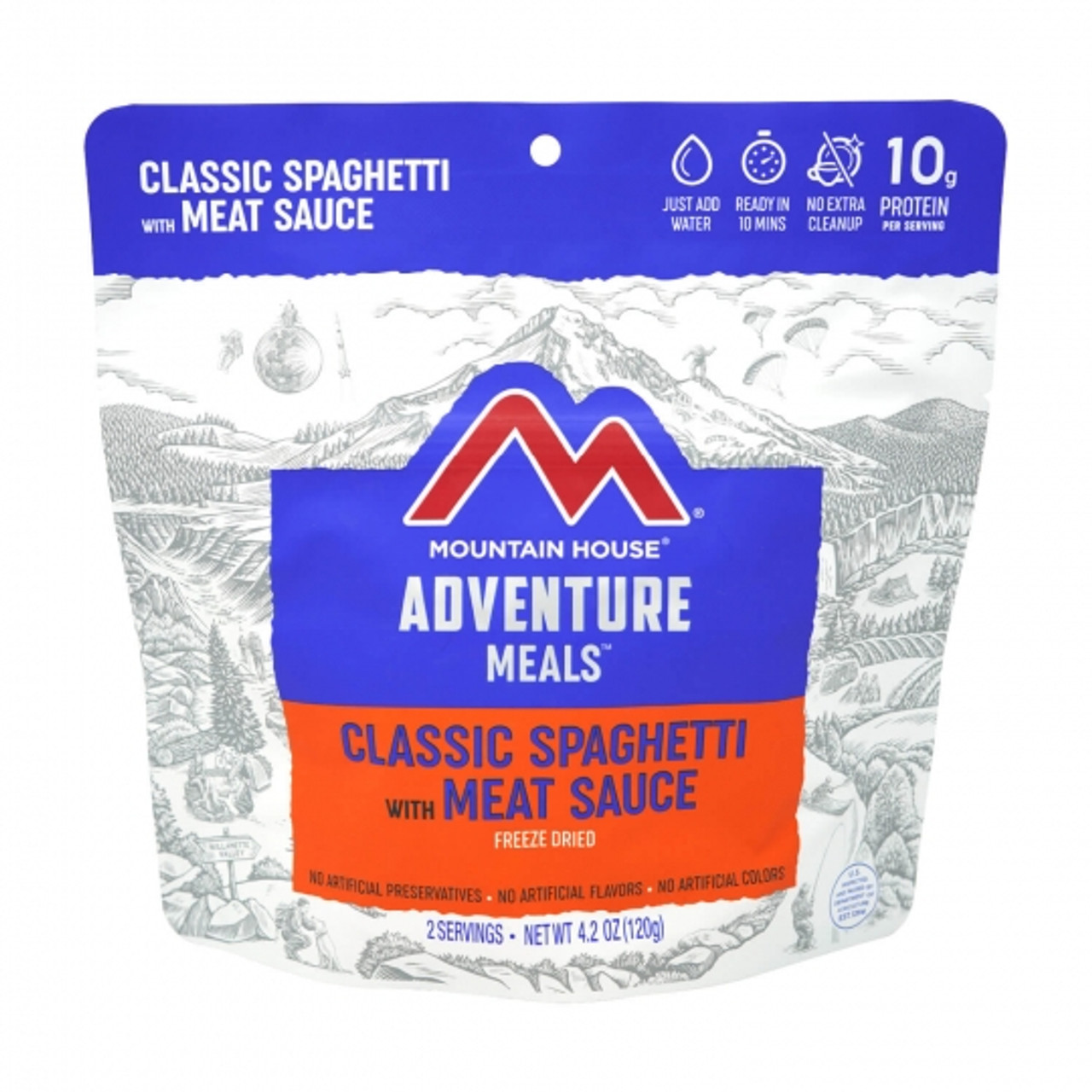 Mountain House Spaghetti with Beef pouch