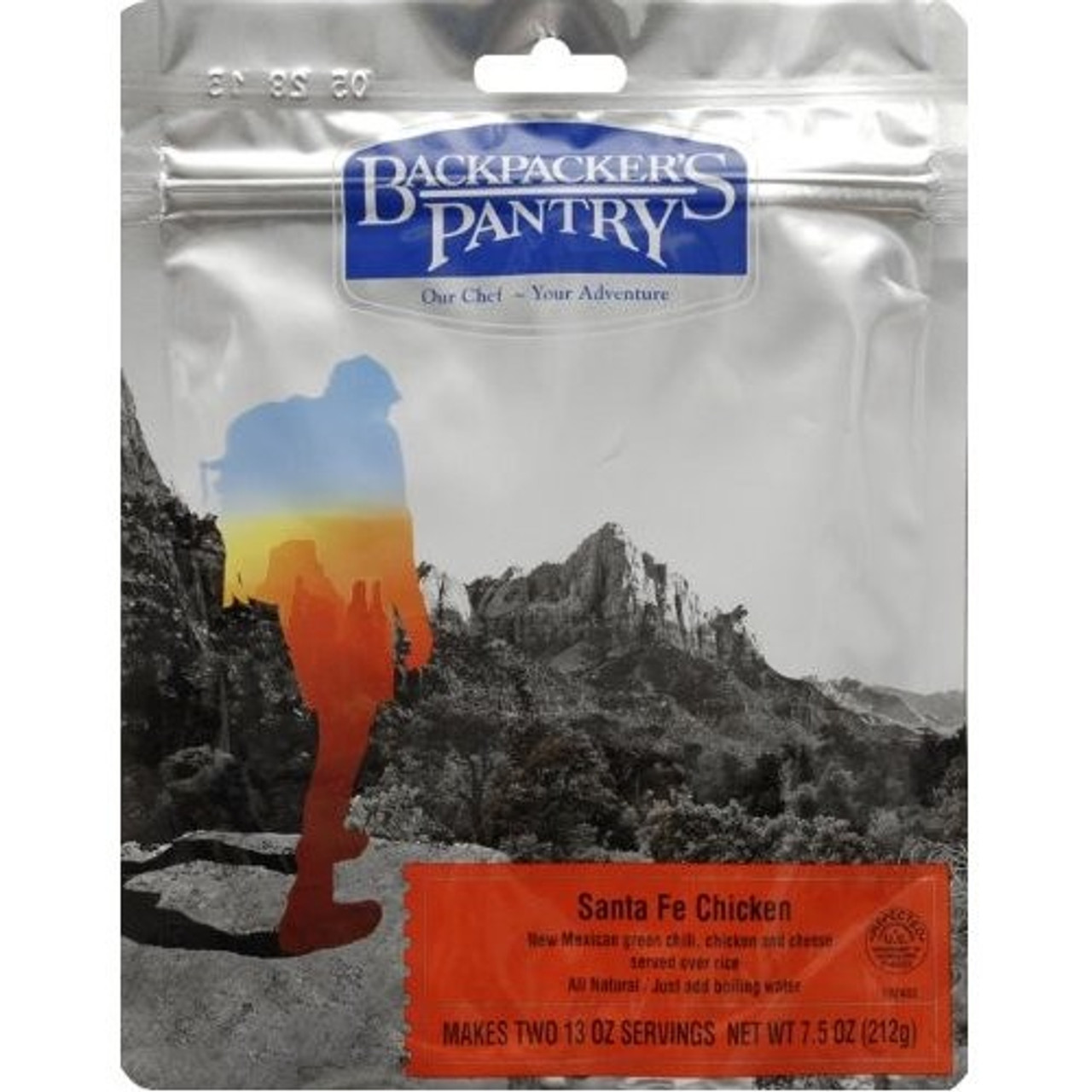 Backpacker's Pantry Pouch Santa Fe Chicken w/Rice