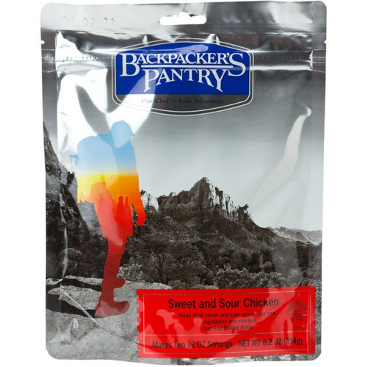 Backpacker's Pantry Sweet and Sour Chicken Pouch
