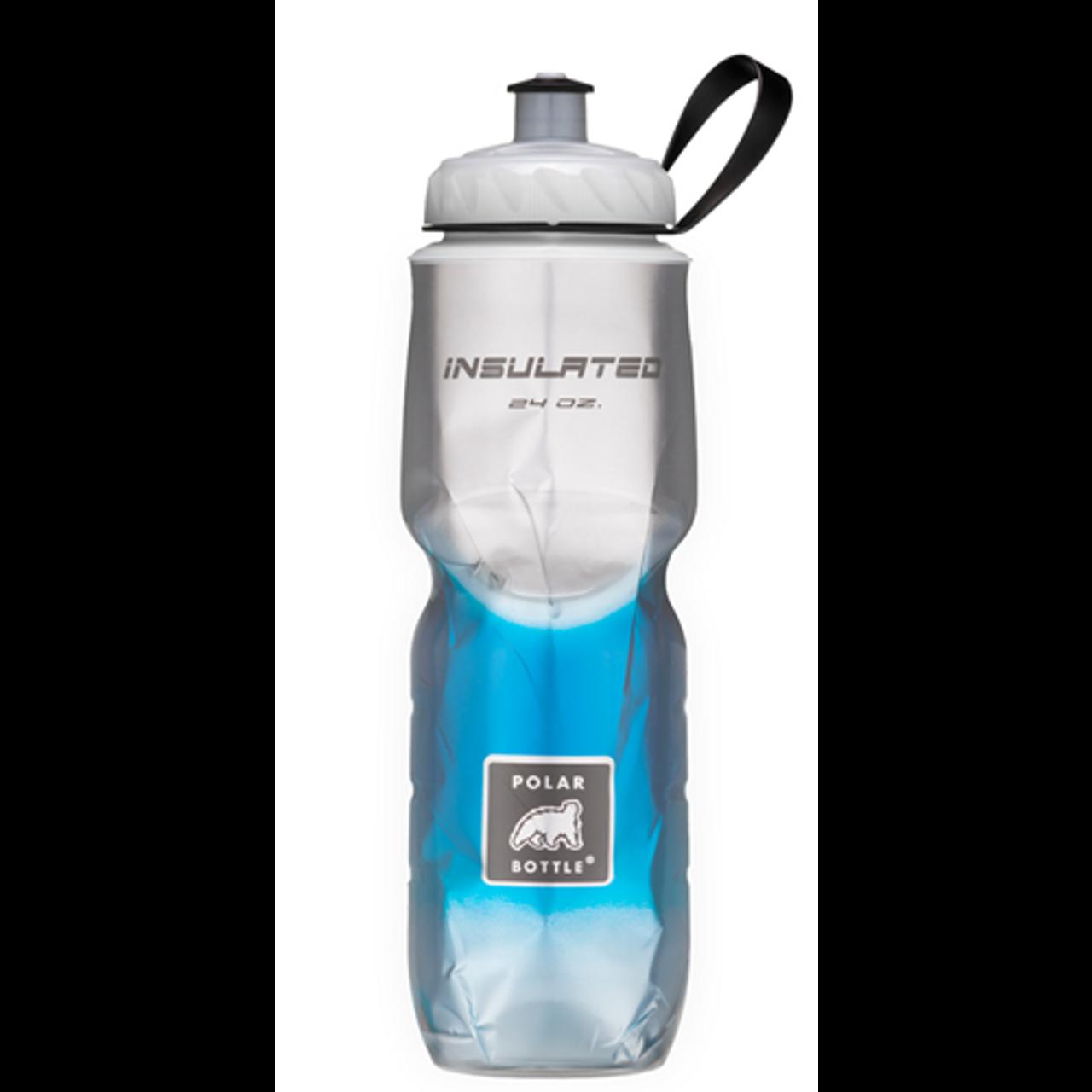 Polar Water Bottle  24 oz  Blue