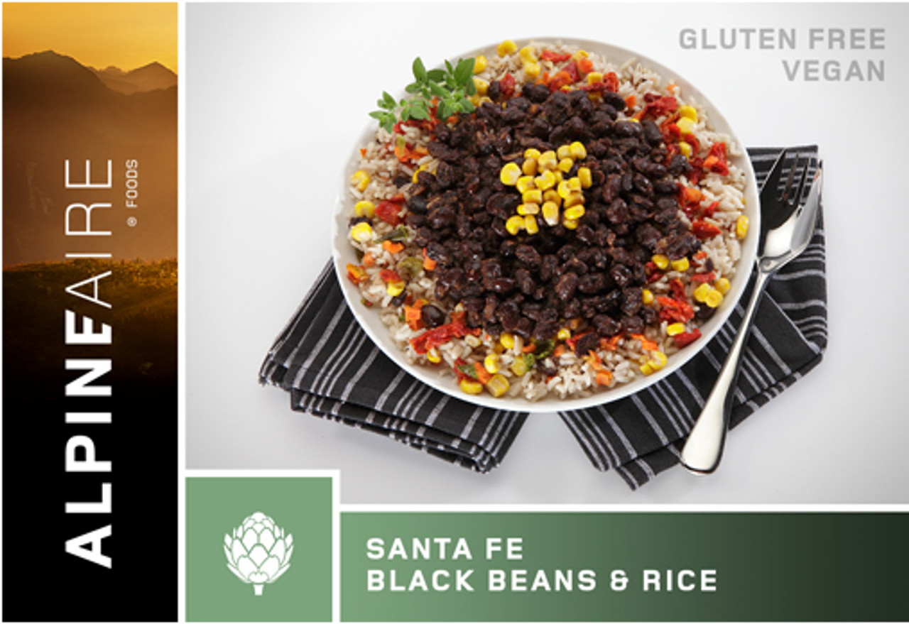 AlpineAire Santa Fe Black Beans and Rice Pouch