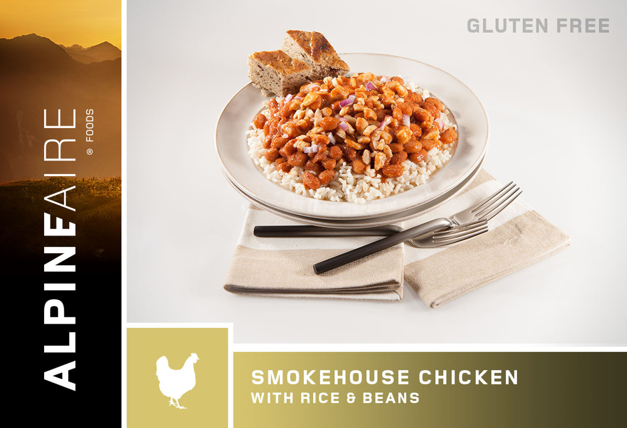 AlpineAire Pouch – Smoke House Chicken With Rice And Beans